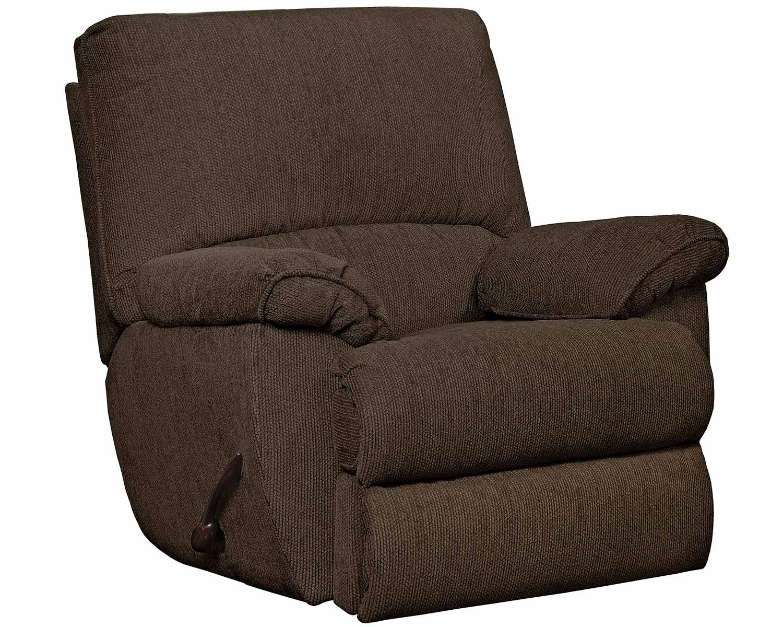 CatNapper Elliot Glider Recliner Chair - Chocolate