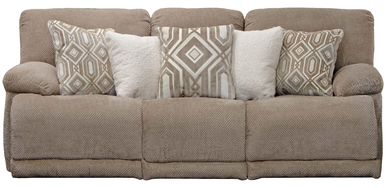 CatNapper Montego Reclining Sofa - Linen