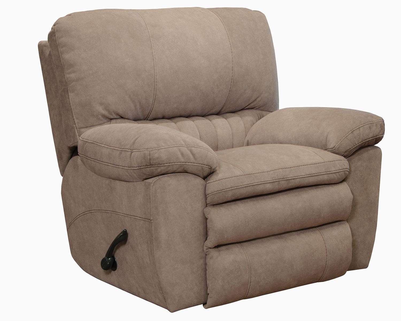 CatNapper Reyes Rocker Recliner Chair - Portabella