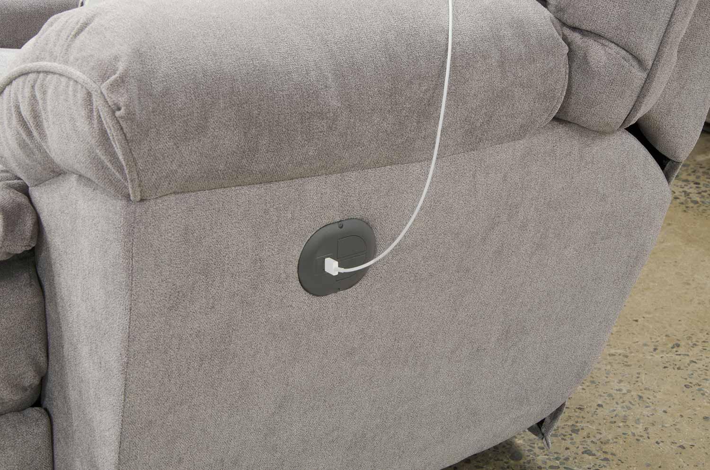 CatNapper Sadler Reclining Sofa - Mica