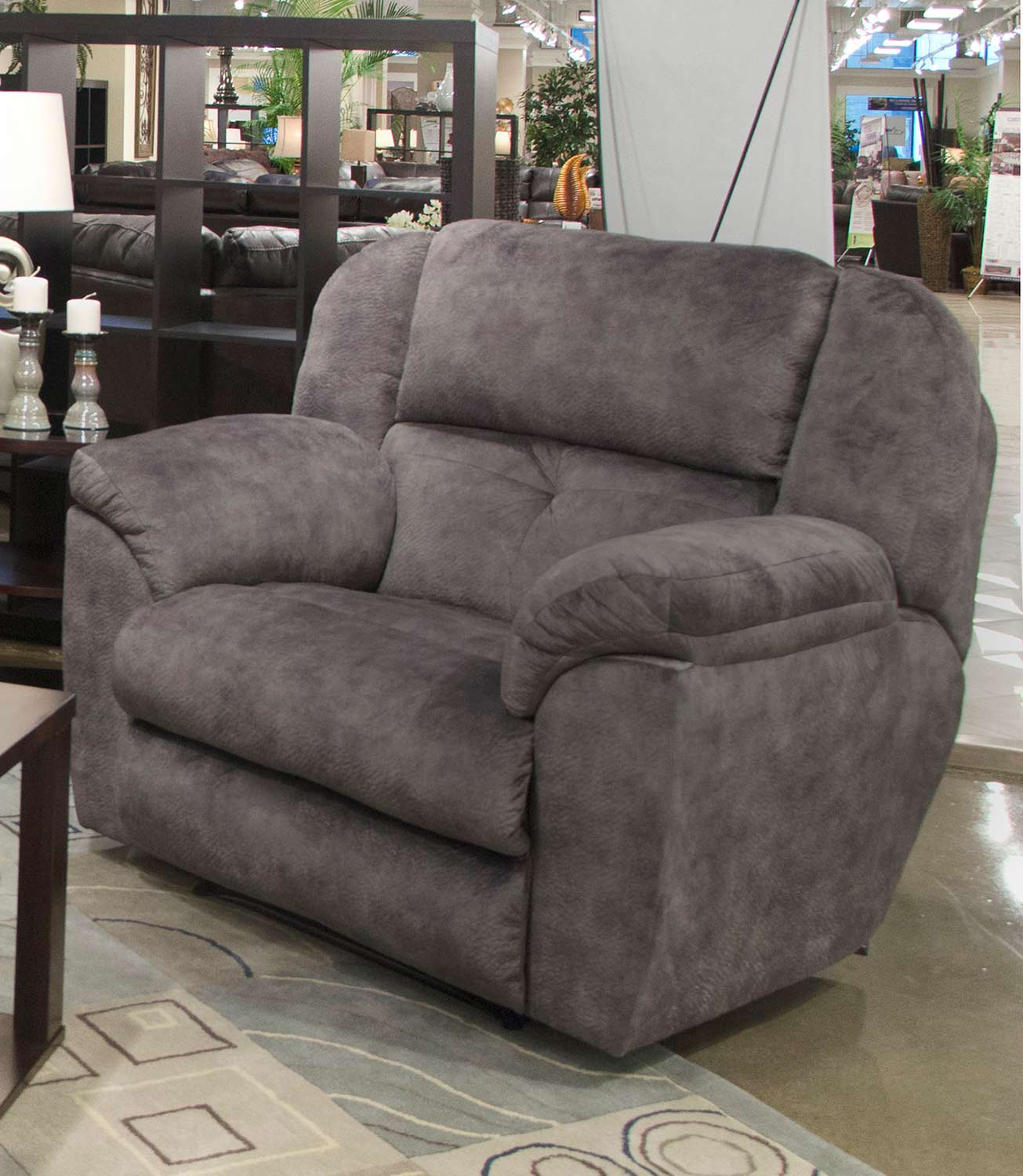 CatNapper Carrington Recliner Chair - Greystone