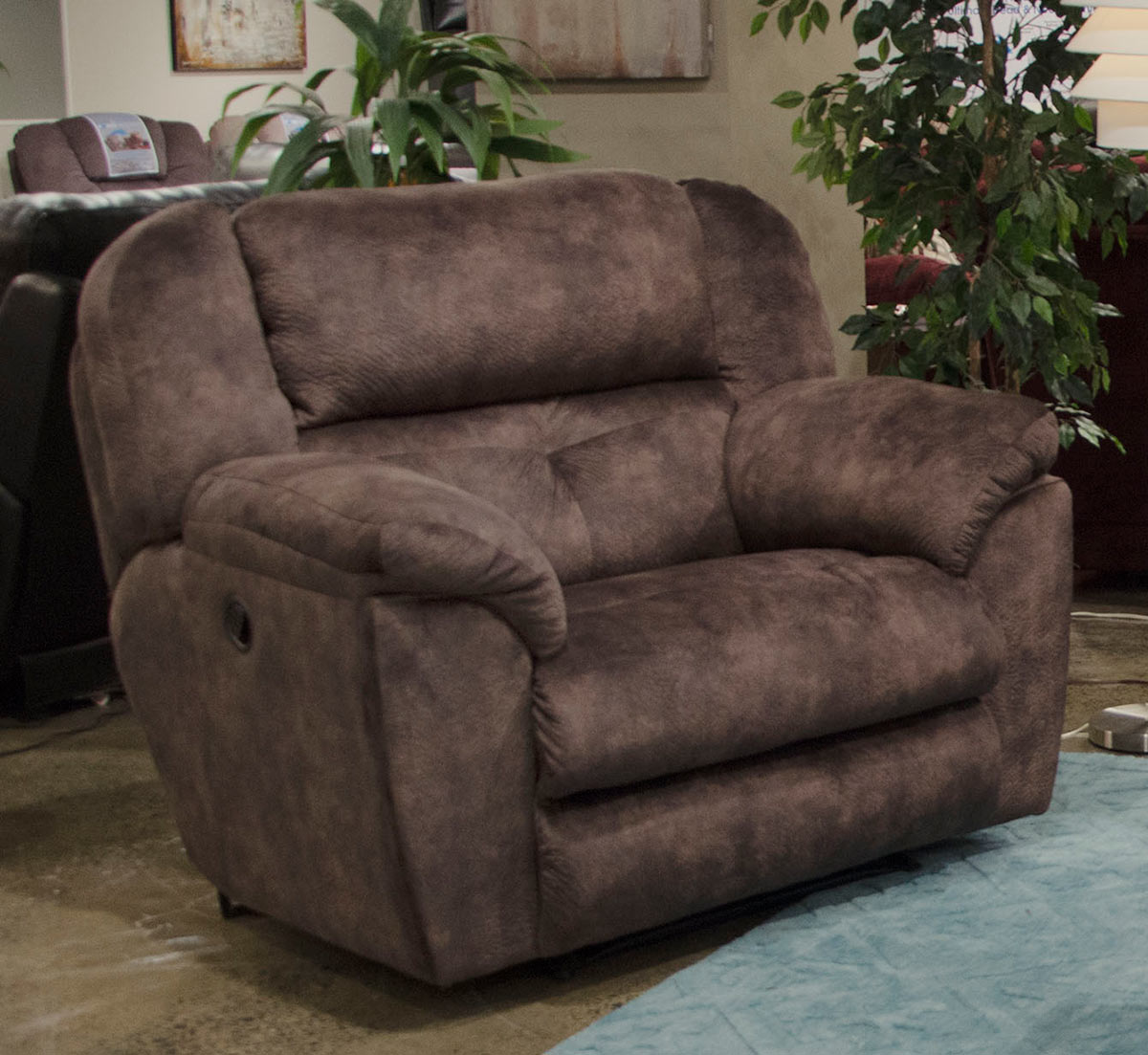 CatNapper Carrington Recliner Chair - Dusk