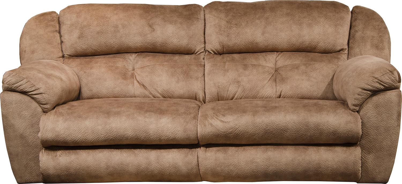 CatNapper Carrington Reclining Sofa - Silk