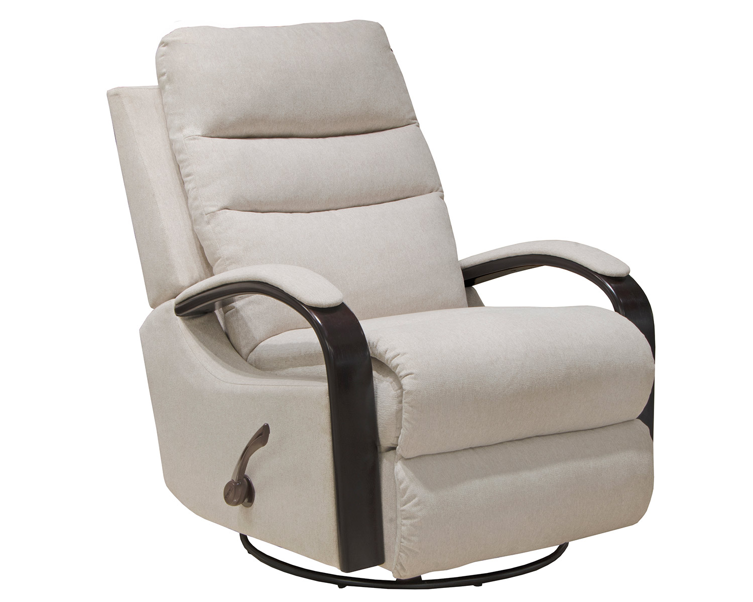 CatNapper Jansen Swivel Glider Recliner Chair - Shell