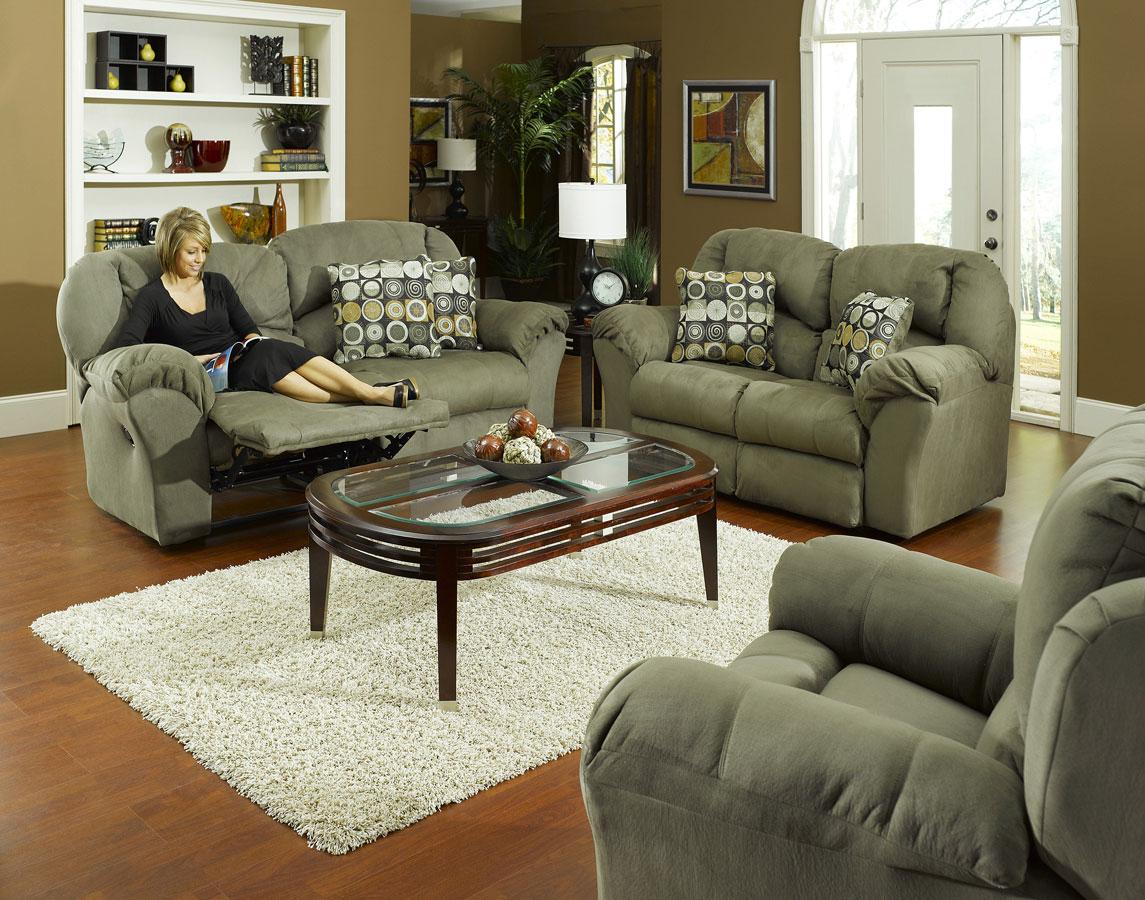 Cheap CatNapper Voyager Sofa Set – Sage