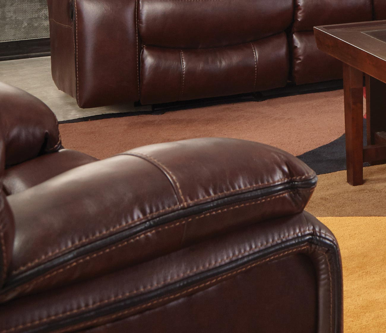 CatNapper Camden Power Lay Flat Recliner - Walnut
