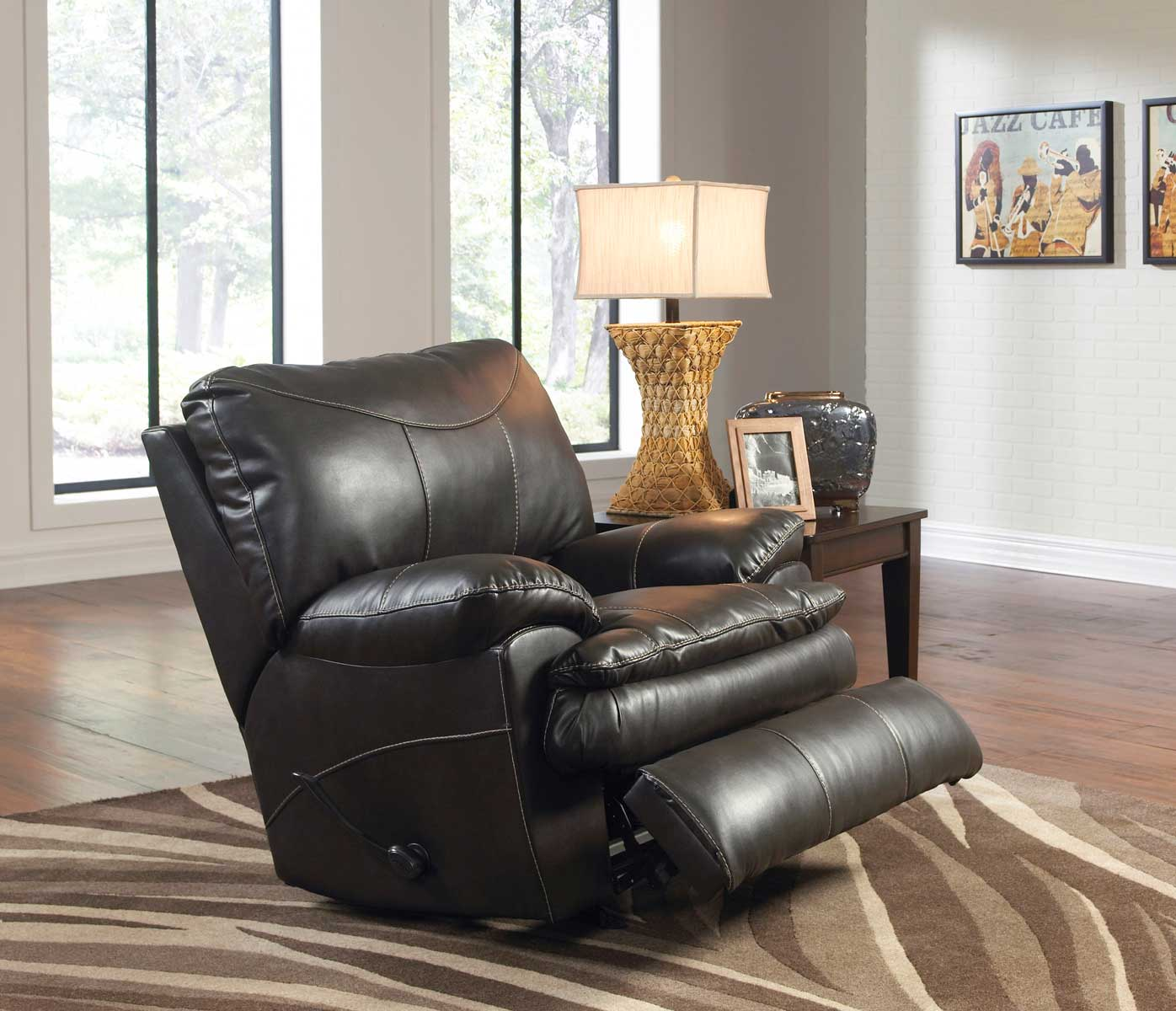 Catnapper perez power chaise rocker recliner steel cn for Catnapper reclining chaise