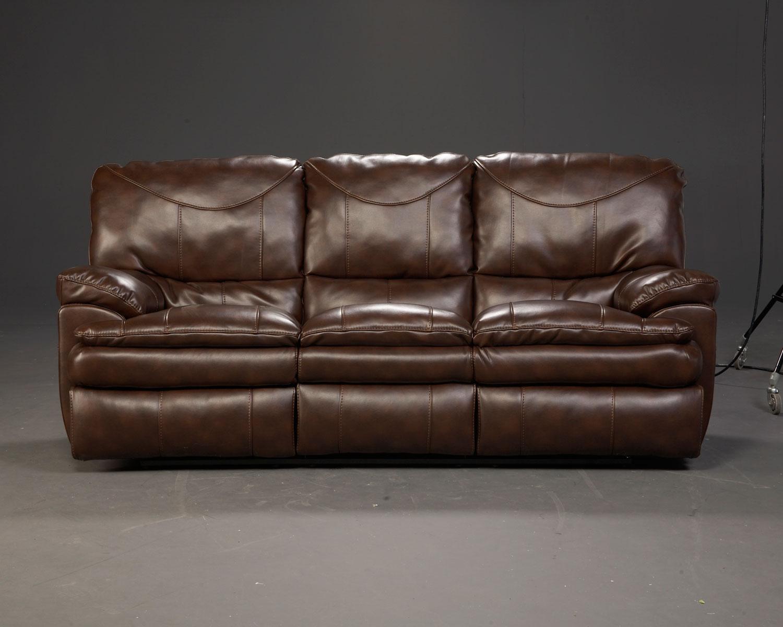 Catnapper Perez Power Reclining Sofa Set Chestnut 64141