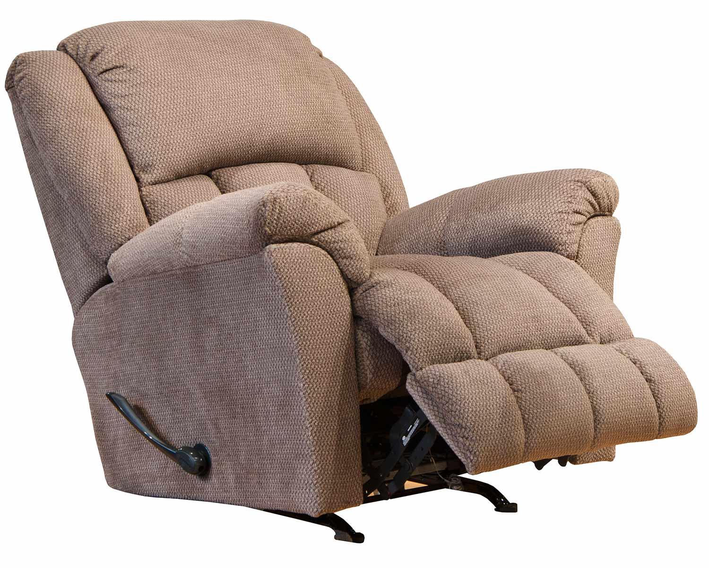 CatNapper Bingham Rocker Recliner Chair - Cafe