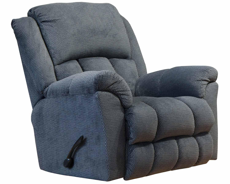 CatNapper Bingham Rocker Recliner Chair - Charcoal
