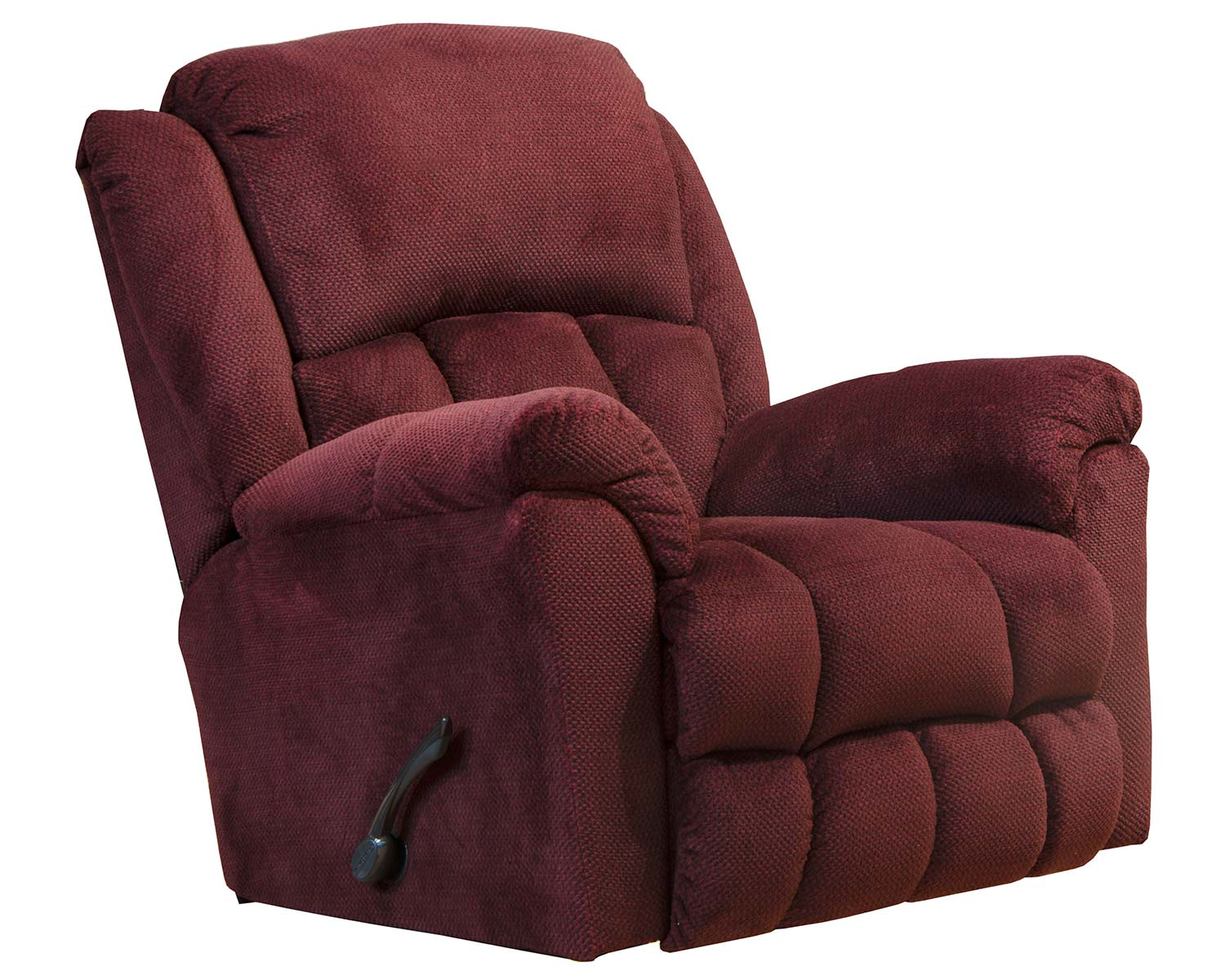 CatNapper Bingham Rocker Recliner Chair - Cinnabar