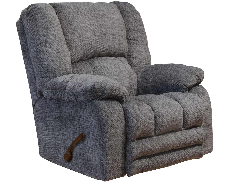 CatNapper Hardin Rocker Recliner Chair - Pewter