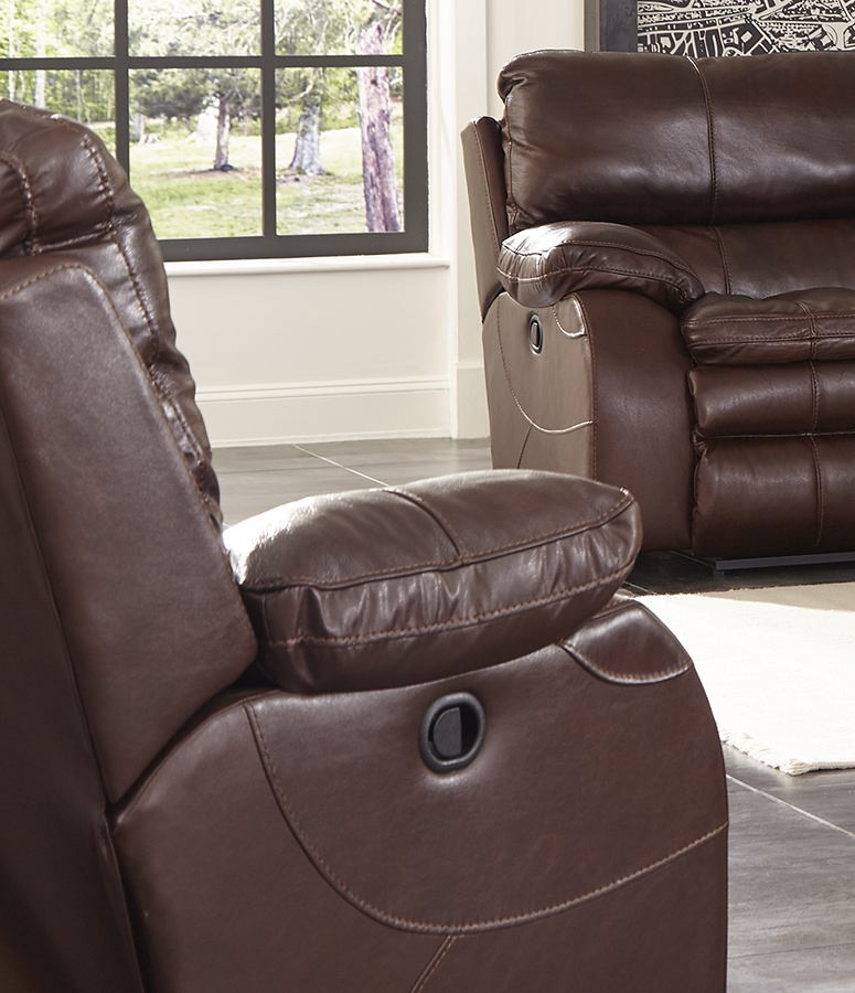 CatNapper Verona Power Headrest Power Recliner Chair - Walnut