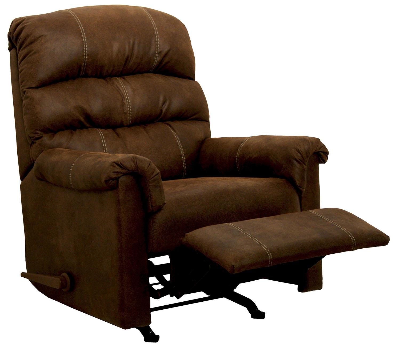 CatNapper Capri Rocker Recliner Chair - Chocolate