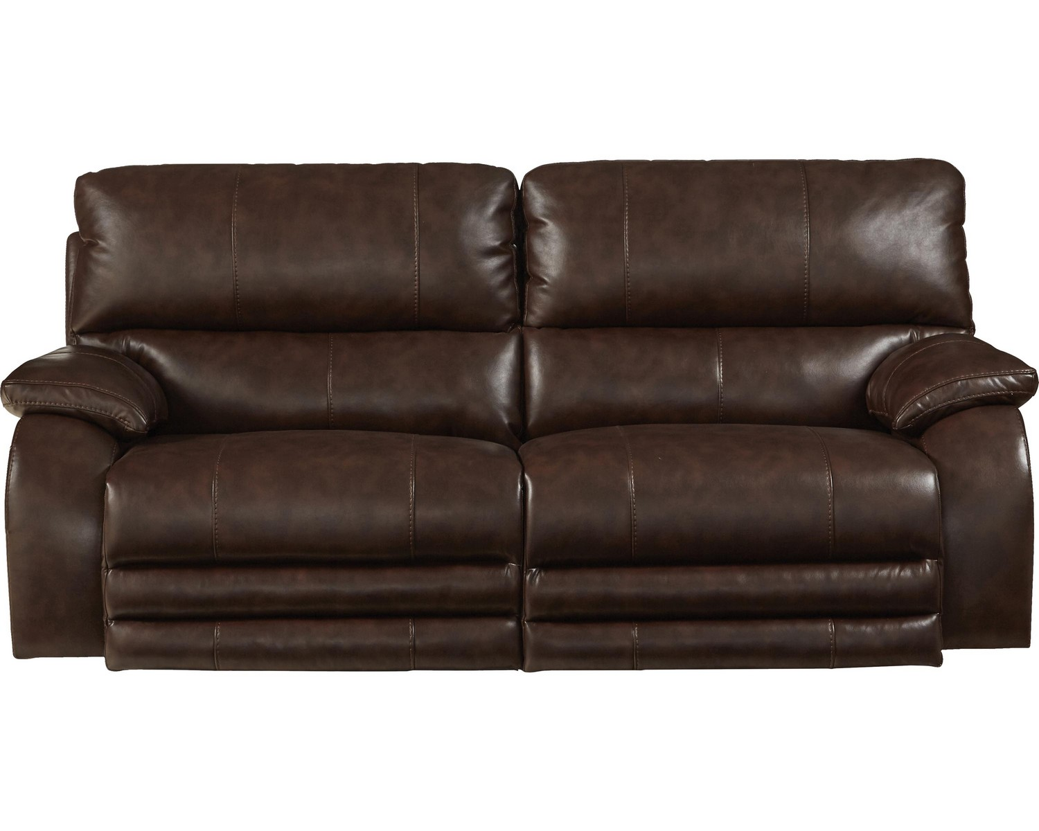 Catnapper sheridan power headrest power lay flat reclining sofa java cn 64271 java at Catnapper loveseat recliner