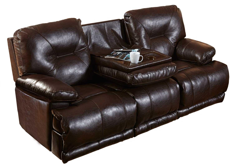 Catnapper Mercury Power Lay Flat Reclining Sofa With 3x