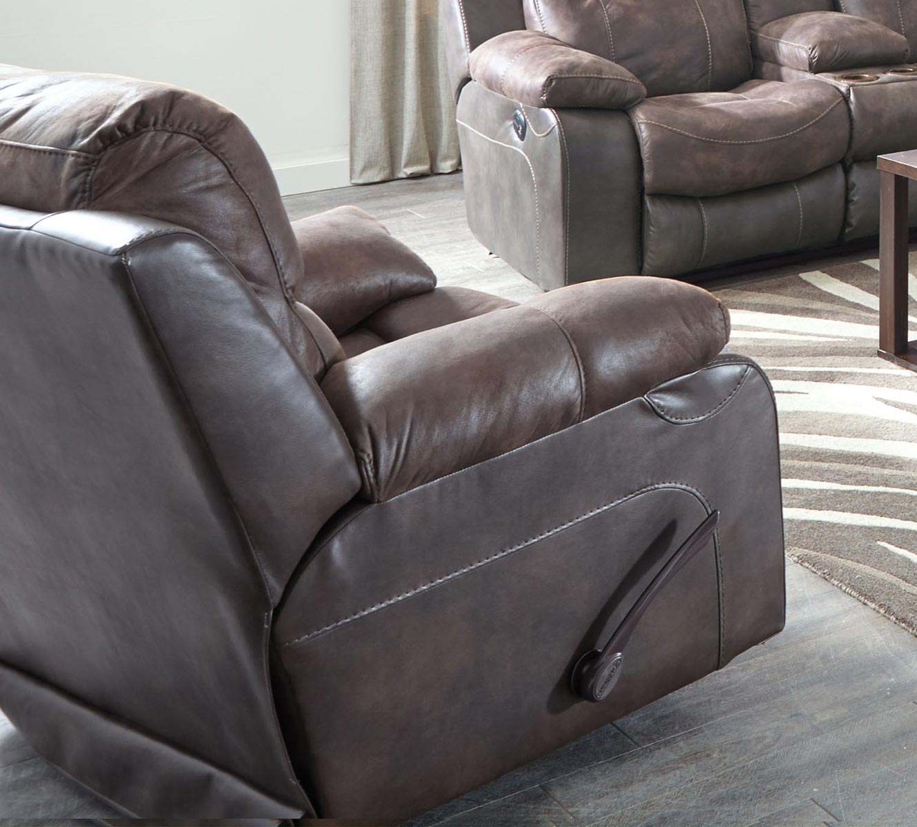 CatNapper Henderson Power Wall Hugger Recliner - Dusk