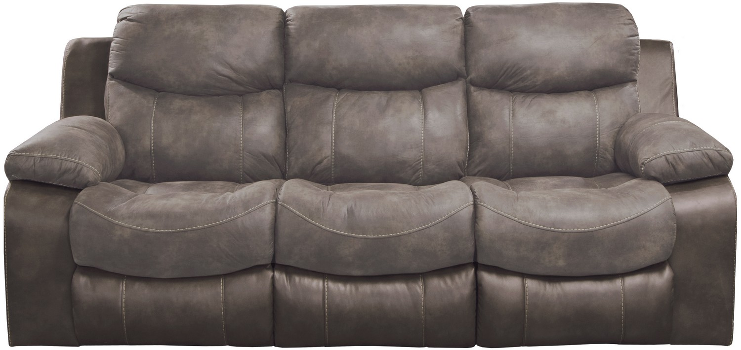 CatNapper Henderson Power Reclining Sofa With Drop Down Table - Dusk