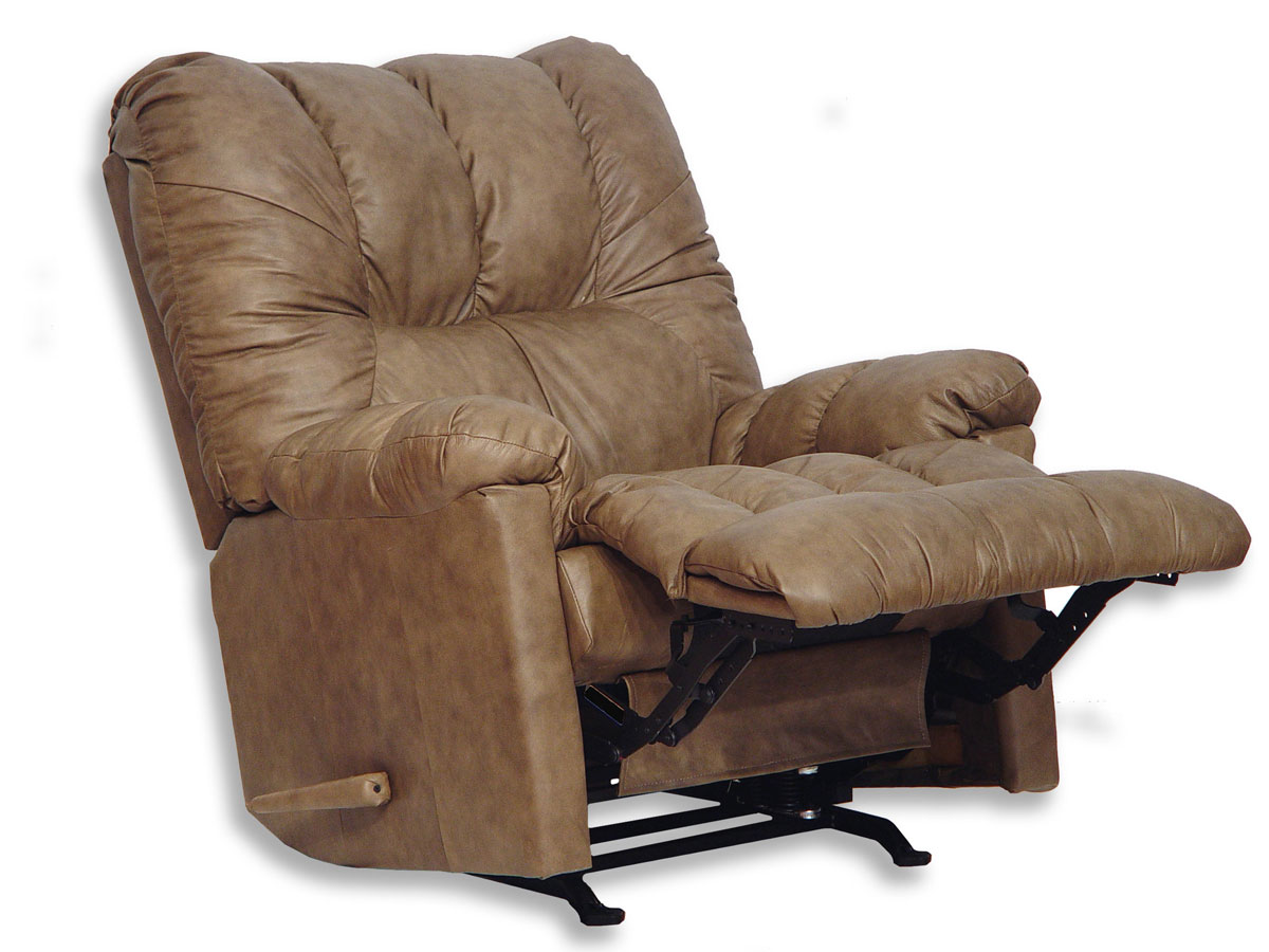 Catnapper score leather chaise rocker recliner 4370 2 for Catnapper reclining chaise