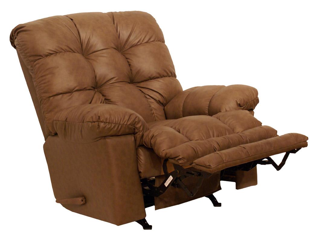 Catnapper cloud ten leather chaise rocker recliner for Catnapper chaise recliner