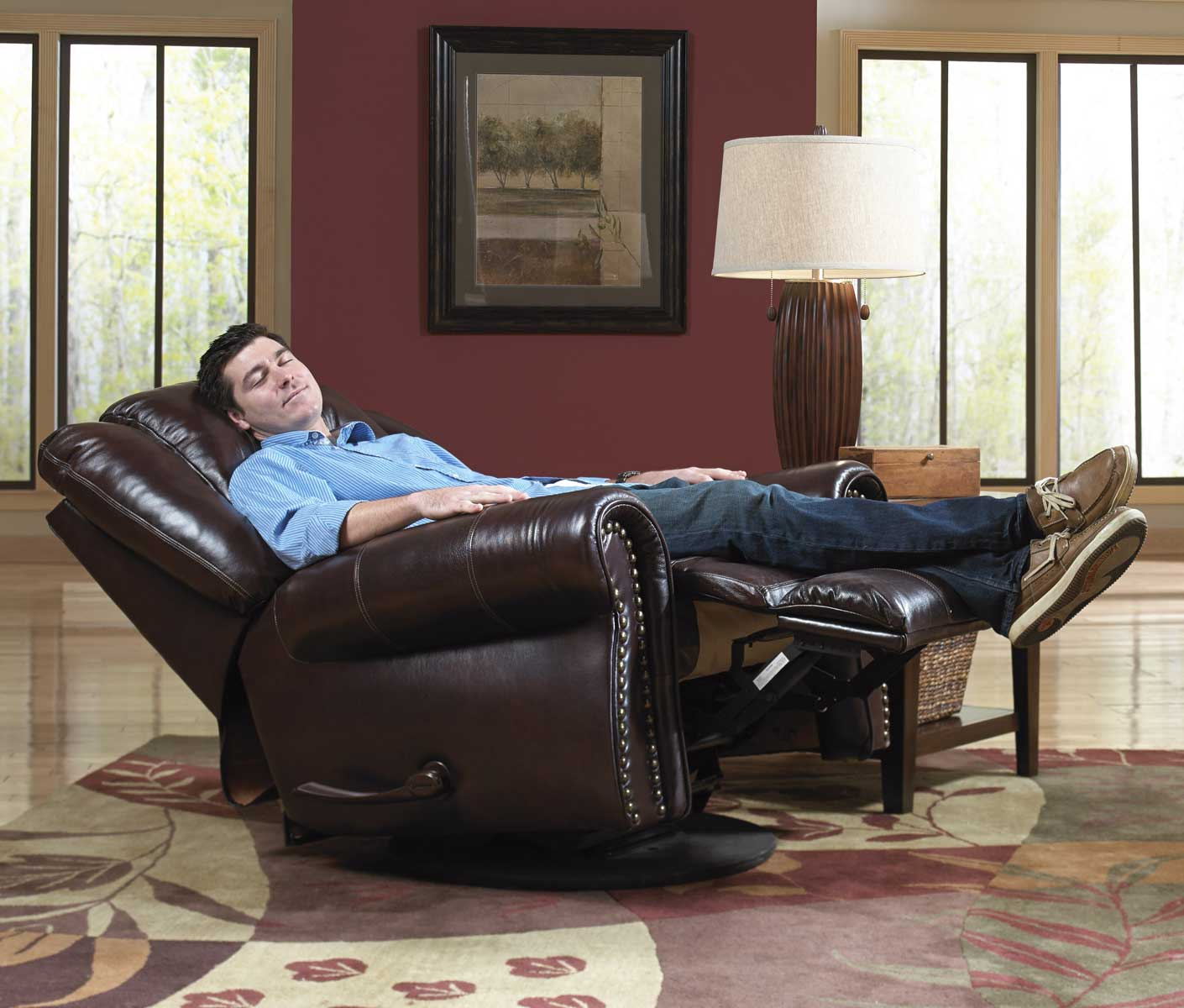 heavy duty recliners lazy boy