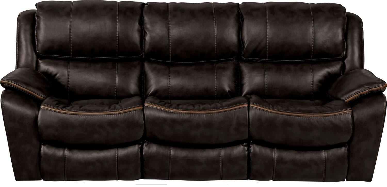 CatNapper Beckett Reclining Sofa - Black