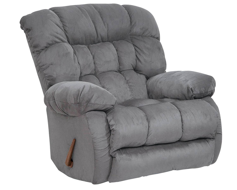 CatNapper Teddy Bear Rocker Recliner Chair - Graphite