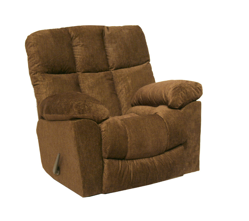 Catnapper pegasus chaise rocker recliner sandstone brown for Chaise x rocker