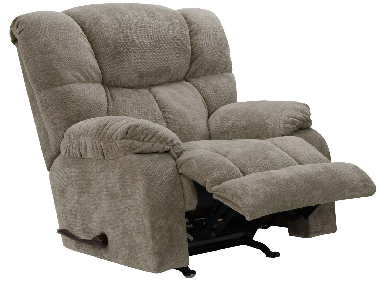 Catnapper popson x tra comfort chaise rocker recliner for Catnapper chaise