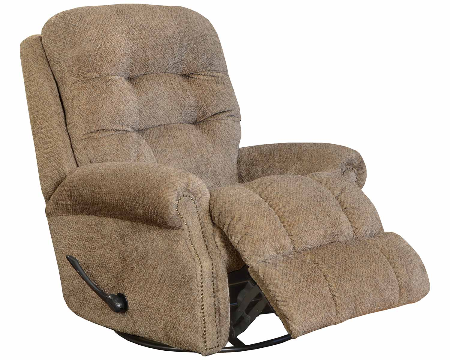 CatNapper Norwood Recliner Chair - Camel