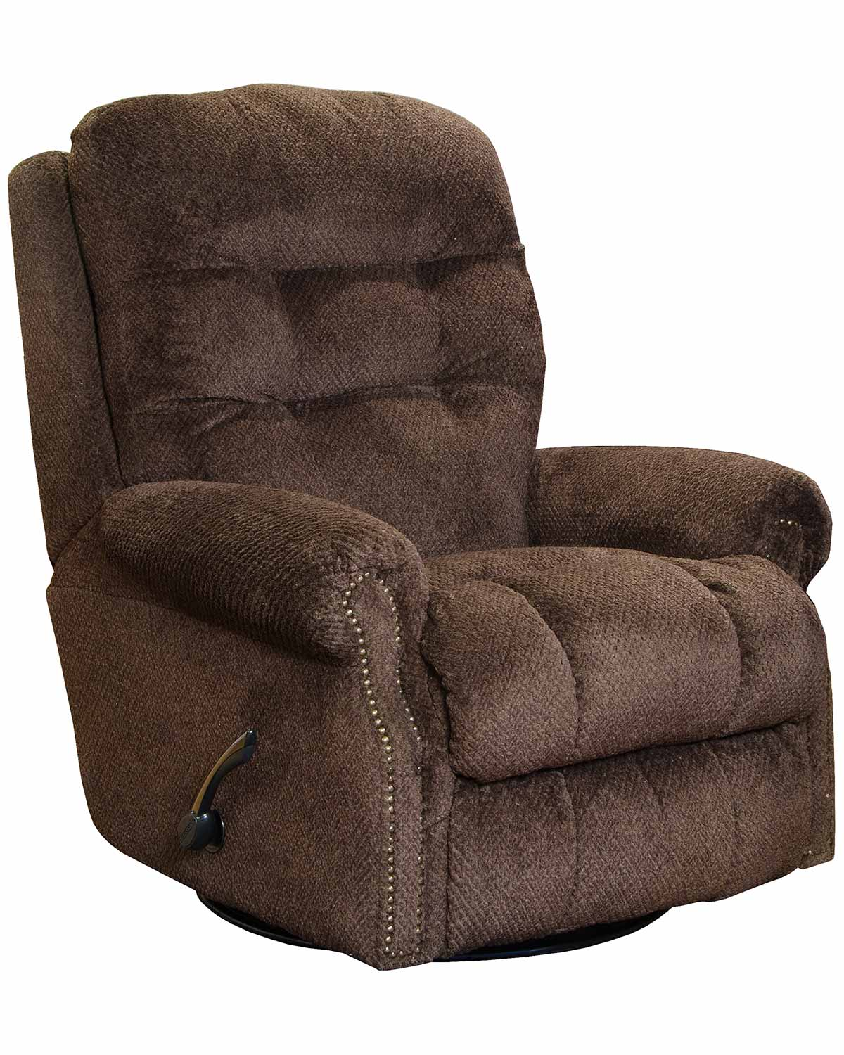 CatNapper Norwood Recliner Chair - Chocolate
