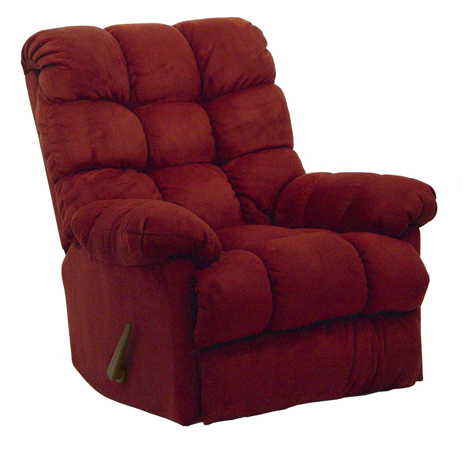 Catnapper coopertown chaise rocker recliner merlot 4565 for Catnapper chaise