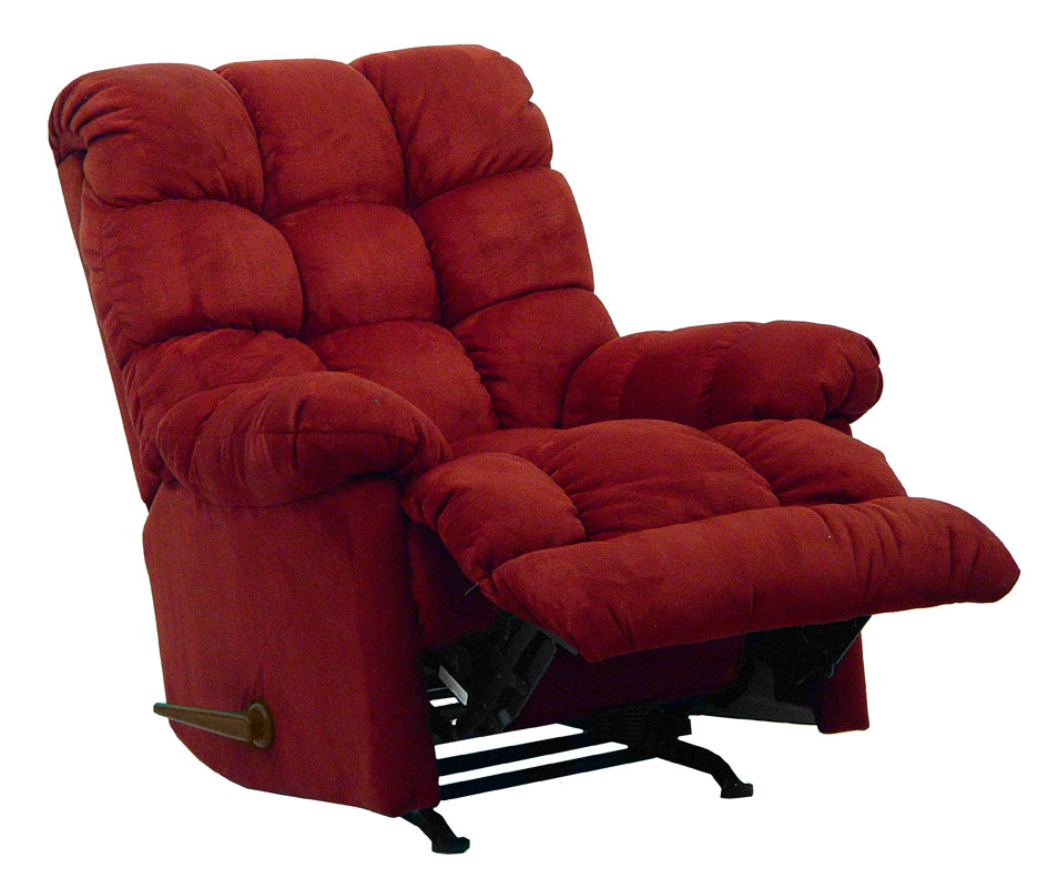 Catnapper coopertown chaise rocker recliner merlot for Catnapper chaise