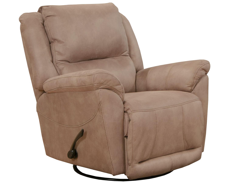 CatNapper Cole Recliner Chair - Camel