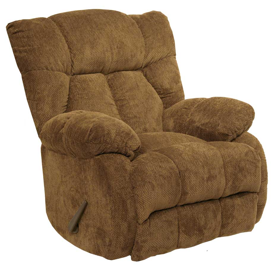 Catnapper laredo chaise rocker recliner camel cn 4609 2 for Chaise and recliner