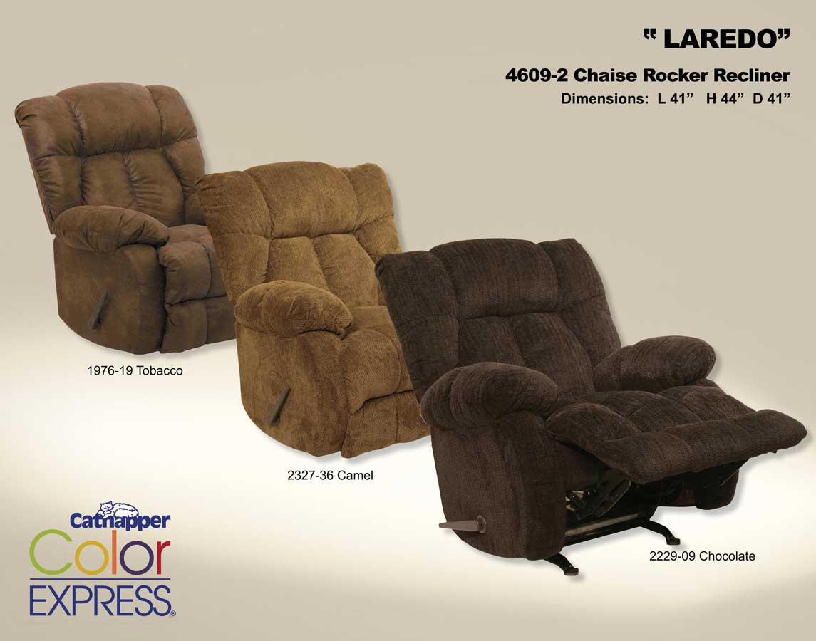 CatNapper Laredo Camo Chaise Rocker Recliner - Mossy Oak : chaise rocker recliner - Sectionals, Sofas & Couches