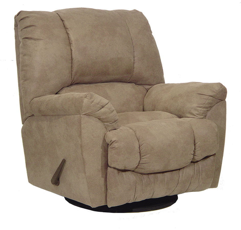 Catnapper goliath chaise swivel recliner mocha for Catnapper chaise