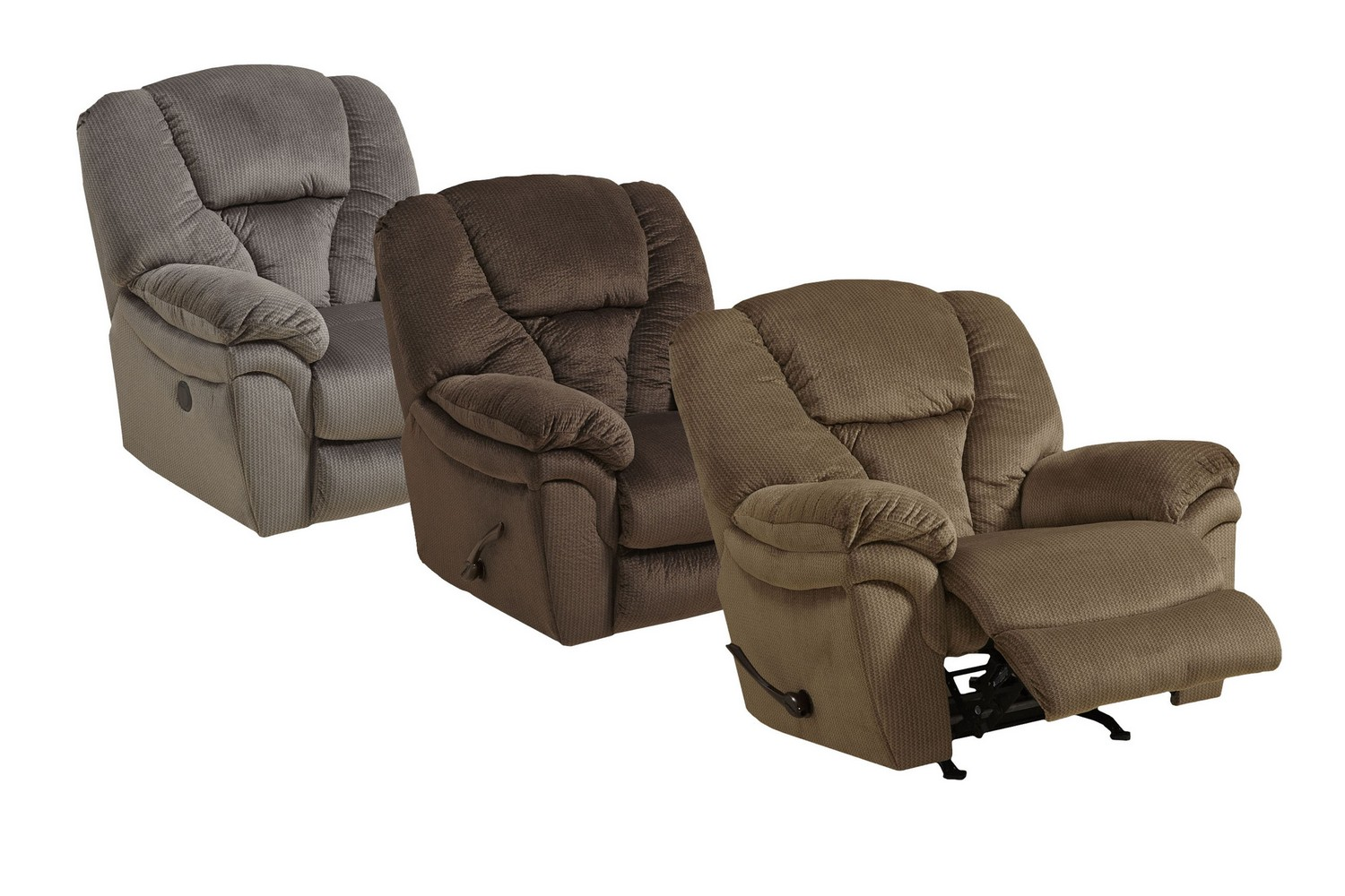 Catnapper drew chaise rocker recliner java cn 4613 2 for Catnapper reclining chaise