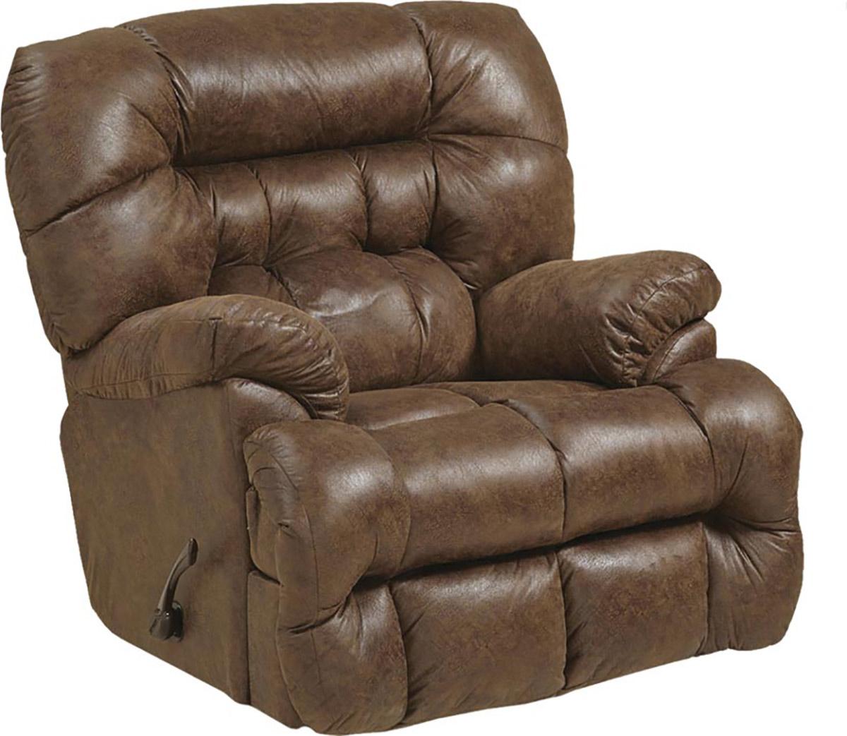 CatNapper Colson Chaise Rocker Recliner Chair - Canyon