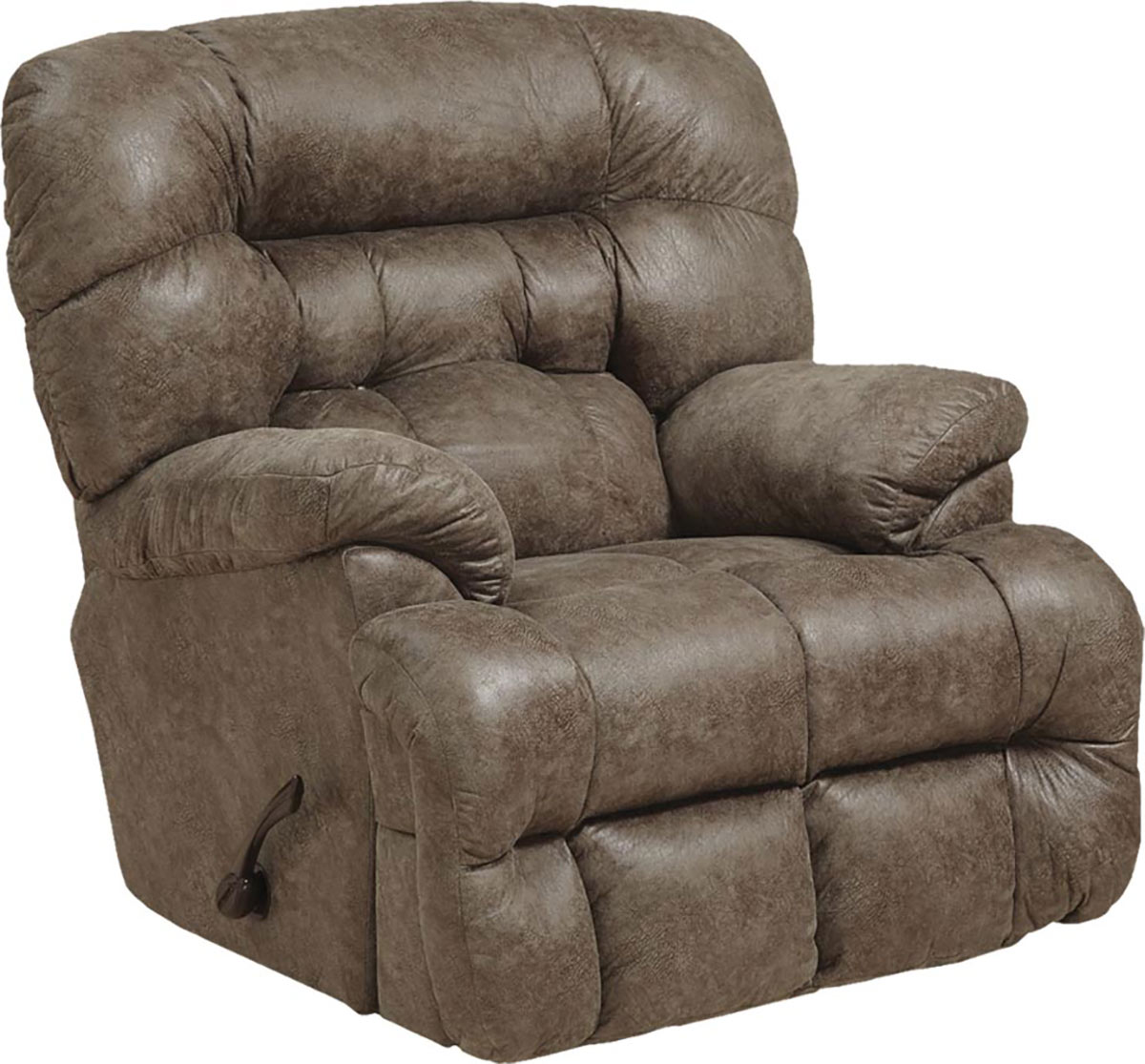 CatNapper Colson Chaise Rocker Recliner Chair - Marble