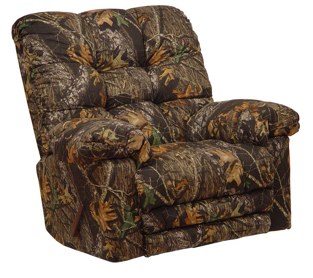 Cloud Nine Camo Chaise Rocker Recliner - Mossy Oak