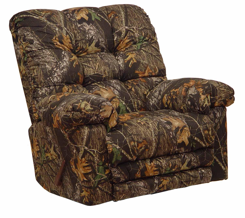 CatNapper Magnum Camo Rocker Recliner Chair - Mossy Oak