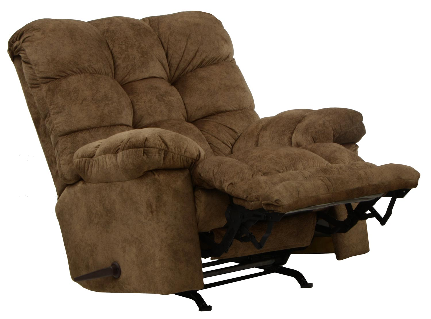 catnapper bronson chaise rocker recliner with x tra