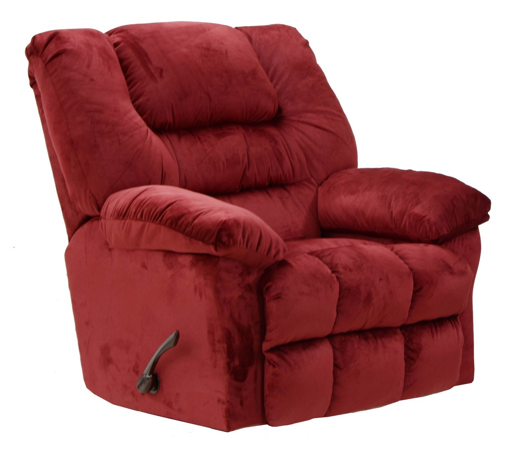 Catnapper Peyton Power Wall Hugger Recliner Crimson