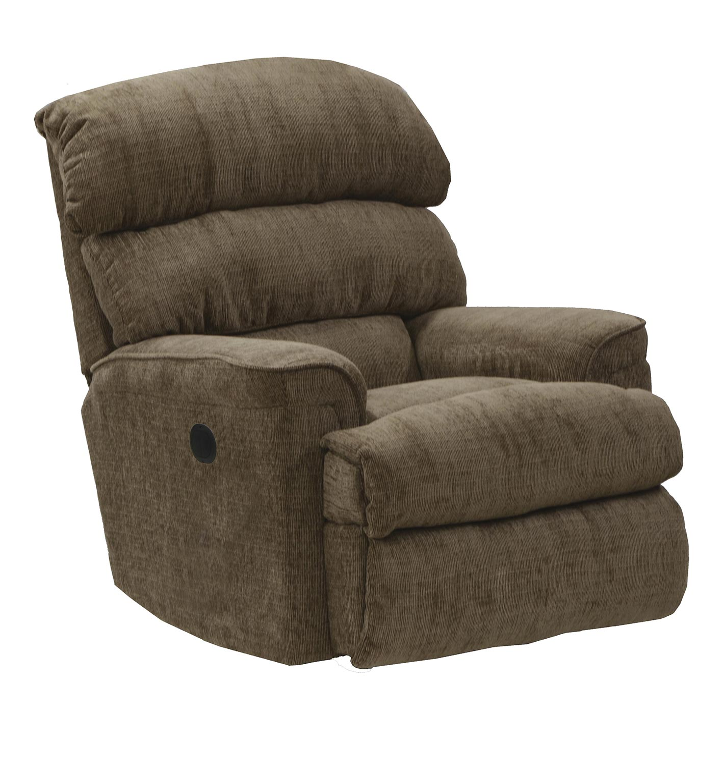 CatNapper Pearson Rocker Recliner Chair - Coffee