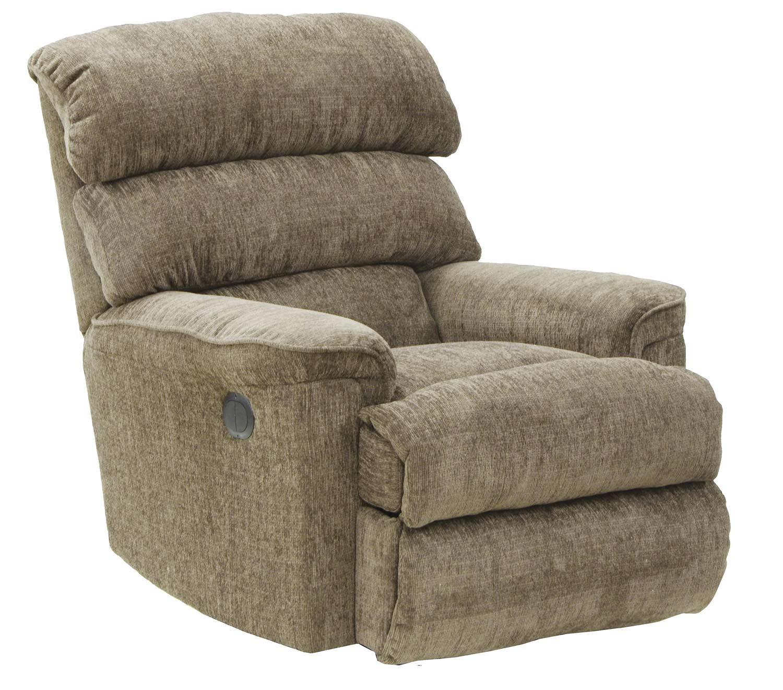 CatNapper Pearson Rocker Recliner Chair - Mocha