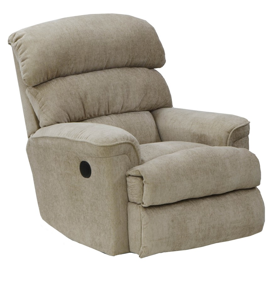 Catnapper pearson chaise rocker recliner linen cn 4739 2 for Catnapper chaise