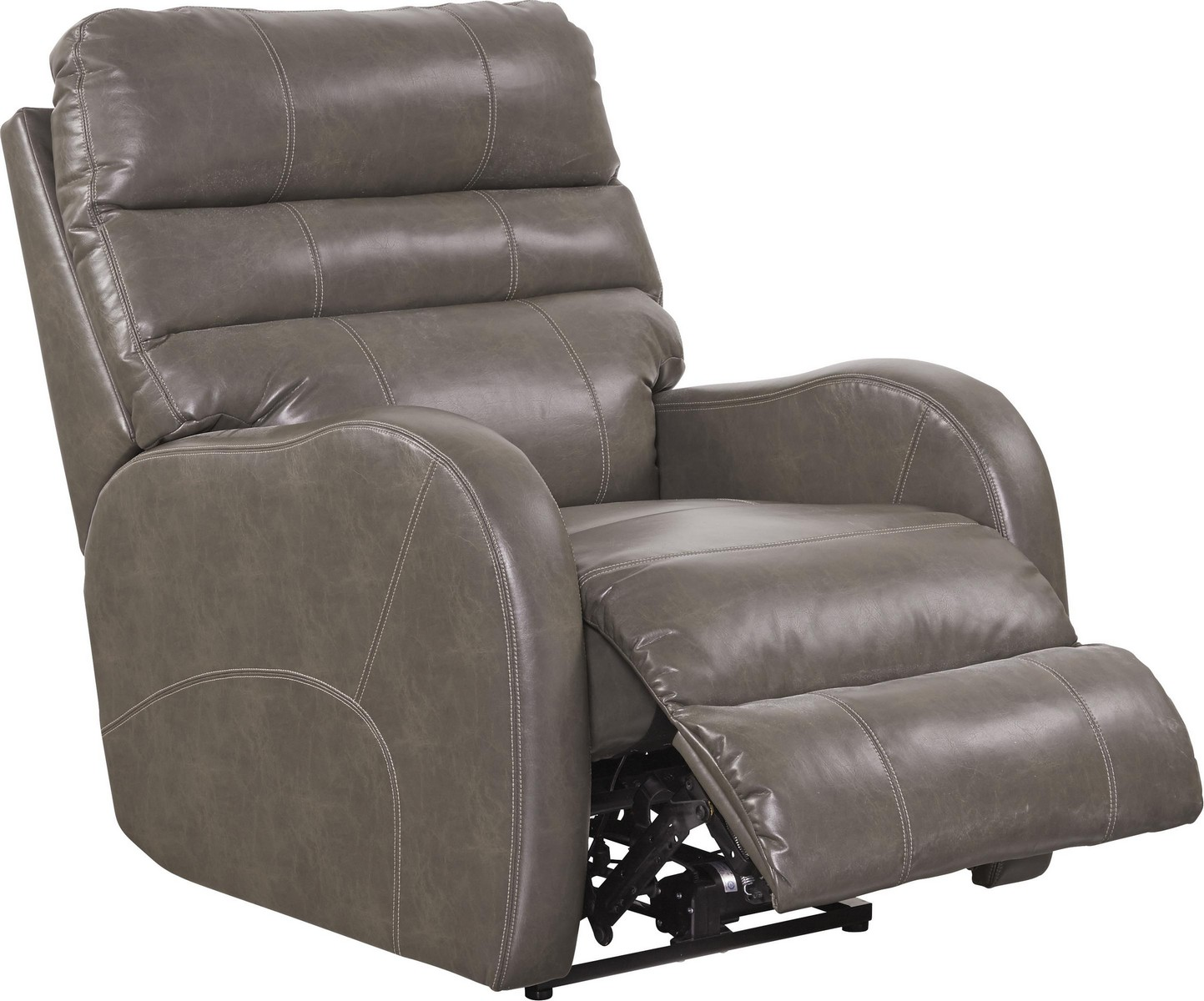 CatNapper Searcy Power Wall Hugger Recliner with USB Port - Ash