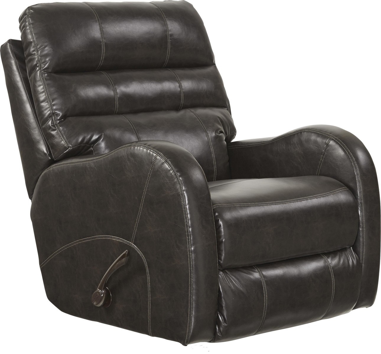 CatNapper Searcy Power Wall Hugger Recliner with USB Port - Coffee