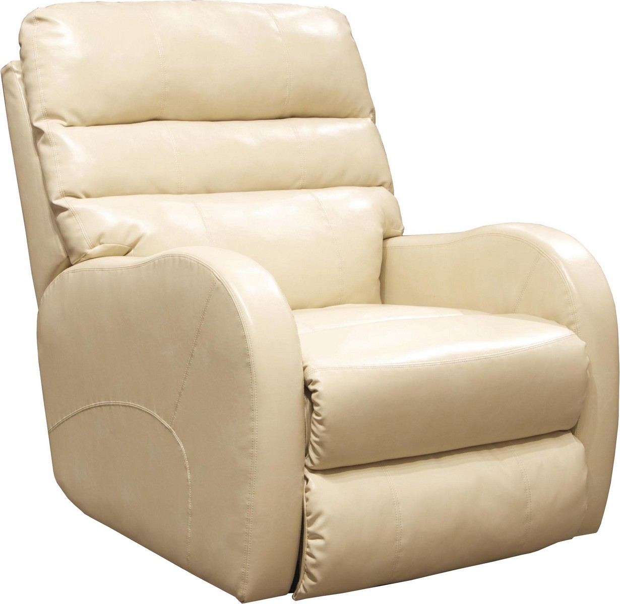 CatNapper Searcy Rocker Recliner - Parchment